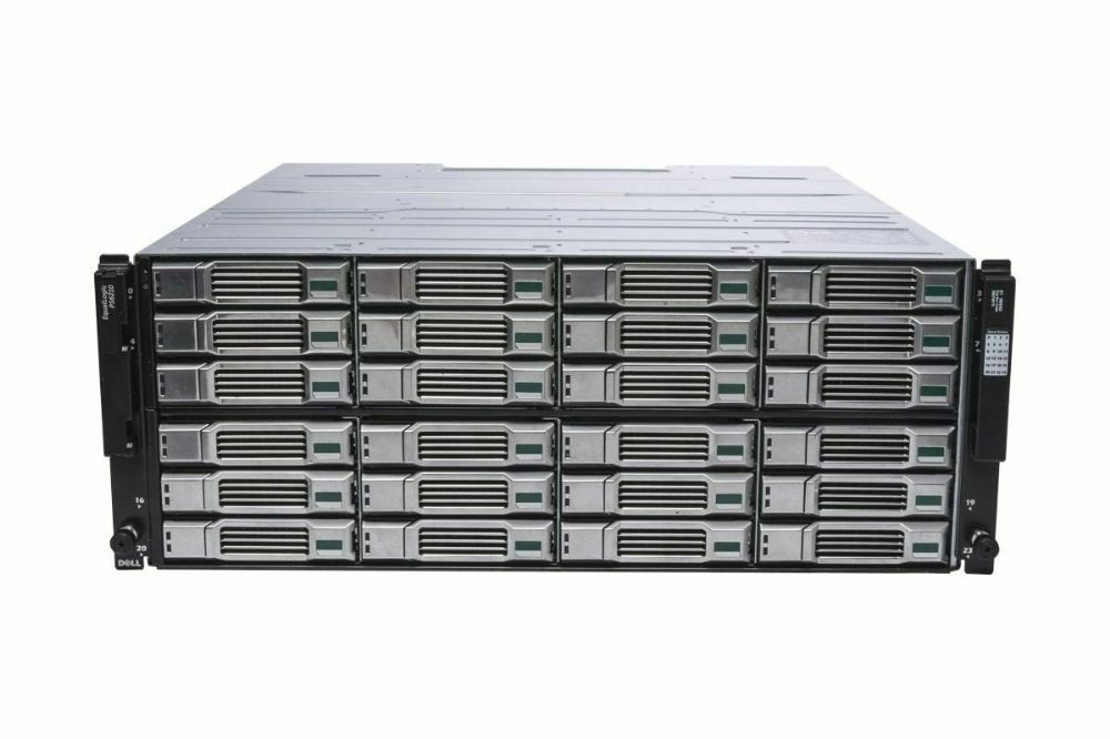 Dell EqualLogic PS6210E 24x 2TB = 48TB iSCSI SAN Storage Array 10GBe/10GB - 202859174251